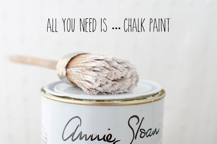 All you need is Chalk Paint