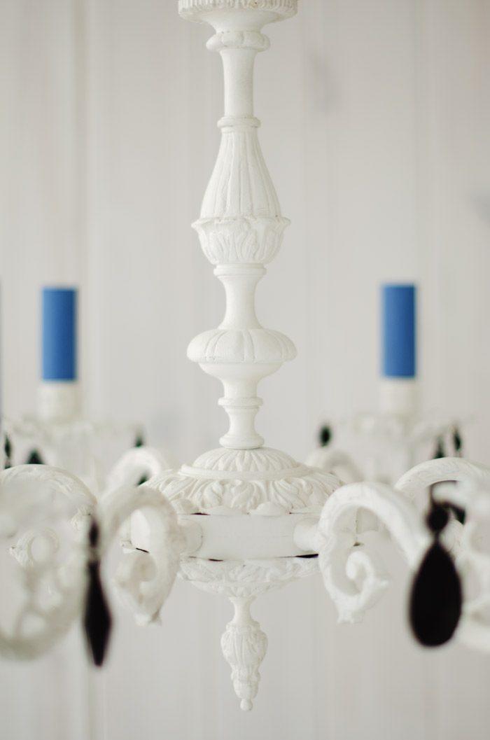 lampara bronce, blanco roto, grafito, azul, annie sloan chalk paint