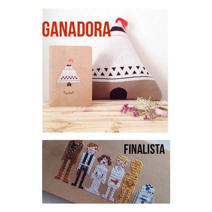 Ganadora y Finalista concurso bordatulibreta