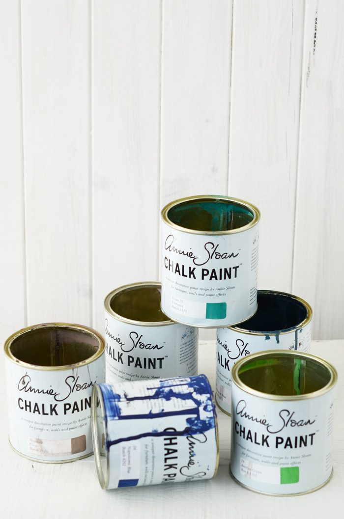 latas chalk paint annie sloan