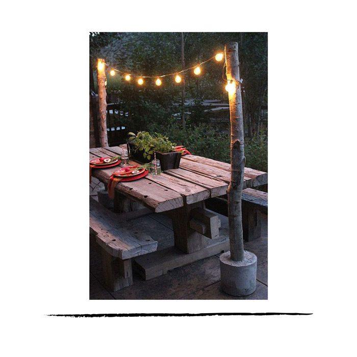 Guirnaldas para iluminar exteriores la trastienda de - Guirnaldas leds para exterior ...